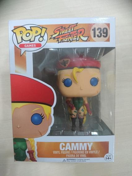Pop Funko - Cammy - Street Figther - Novo!