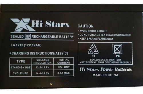Bateria Gel 12v 12ah Luz Alarma Ups Emergencia Envio Gratis!