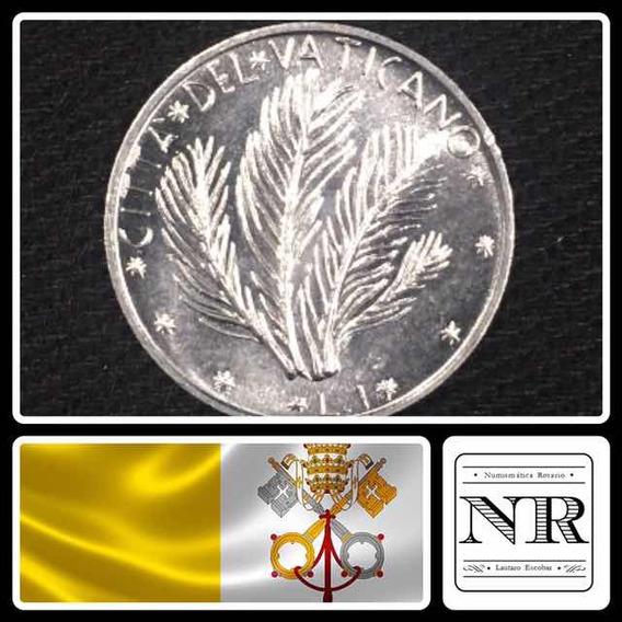 Vaticano - 1 Lira - Año 1973 - Papa Pablo Vi - Km# 116
