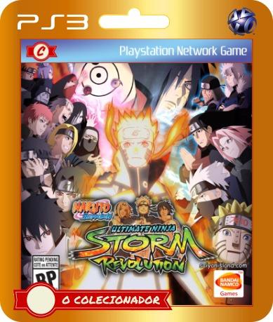 Naruto Shippuden Ultimate Ninja Storm 5 - Video Games no