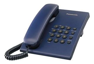 Teléfono fijo Panasonic KX-TS500 azul