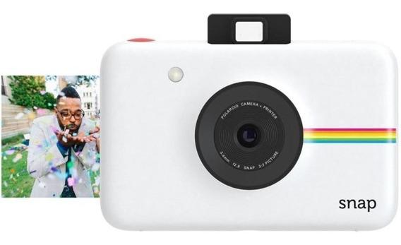 Câmera Polaroid Snap Instant Print Digital 10mp Polsp01b Branco
