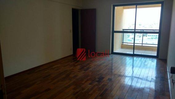 Apartamento Residencial Para Locação, Vila Imperial, São José Do Rio Preto. - Ap1060