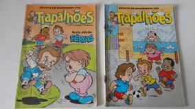 3 Gibis Revista Em Quadrinhos Dos Trapalhões Nºs 13-23-47