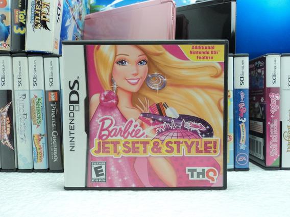 Barbie Jet ,set E Style! - Nintendo Ds - Em 12x Sem Juros !!