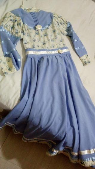 Vestido De Prenda Tamanho 10