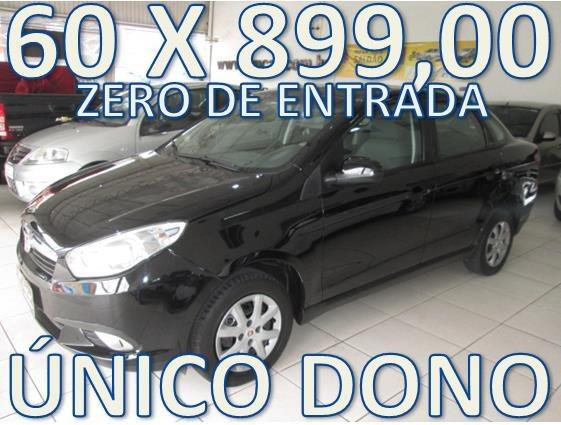 Fiat Grand Siena 1.4 Completo Zero De Entrada + 60 X 899,00