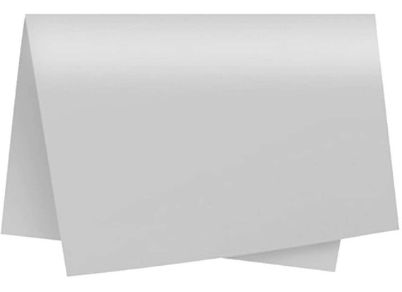 Papel Cartolina Dupla Face Color Set 47,5x66cm Branco C/20