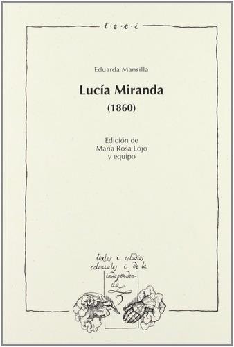 Imagen 1 de 3 de Lucia Miranda (1860), Eduarda Mansilla, Iberoamericana