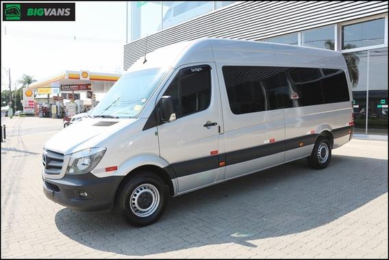 Sprinter 2019 415 0km Bigvan Elite 19l Caribe Sunset Prata