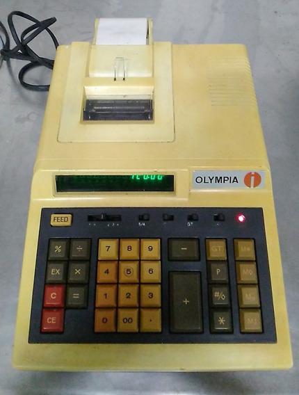 Calculadora E Impressora Olympia #10404