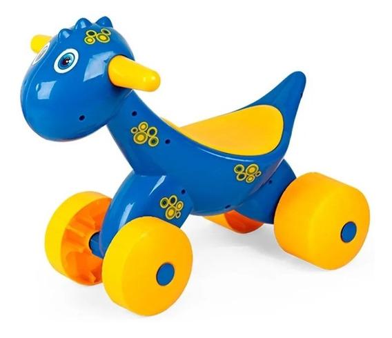 Andador Dinoplay Azul Original Lionel