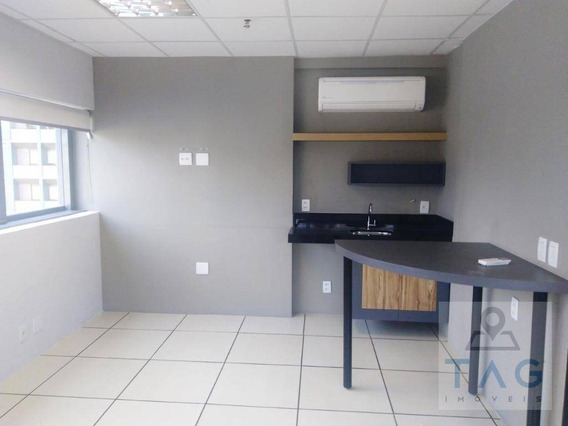 Sala Comercial Com 45 Metros Quadrados Para Venda No Cambuí Em Campinas - Sp. - Sa0082