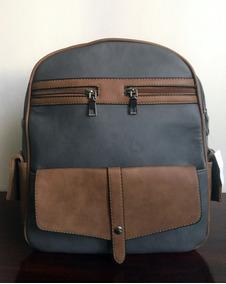 Backpack Mochila 255 Bolsa Boy Neverfull Azul Textura Piel