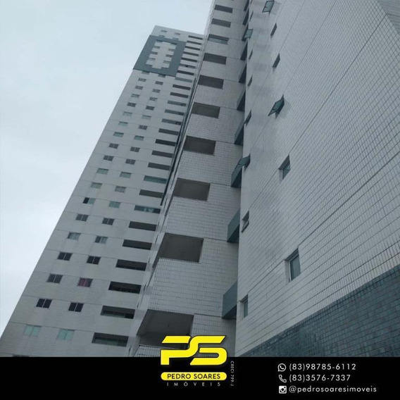 Apartamento Duplex Com 3 Dormitórios Para Alugar, 169 M² Por R$ 3.500/mês - Bessa - João Pessoa/pb - Ad0019