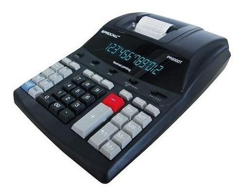 Calculadora Procalc Pr5000t Impressão Térmica Com 12 Digitos