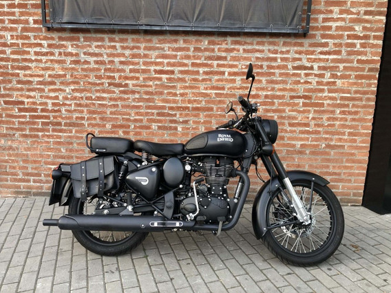 Royal Enfield Classic 500 Stealth Black 2018