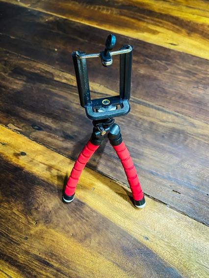 Mini Tripé Flexível Para Smartphones E Celulares