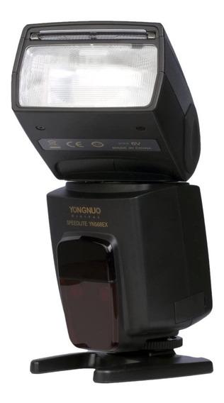 Flash Yongnuo Ttl Speedlite Yn-568ex P/ Câmeras Nikon