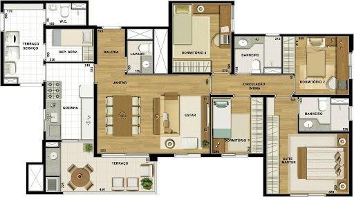 Apartamento Com 4 Dormitórios À Venda, 115 M² Por R$ 640.000,00 - Vila Santo Antônio - Guarulhos/sp - Ap0270