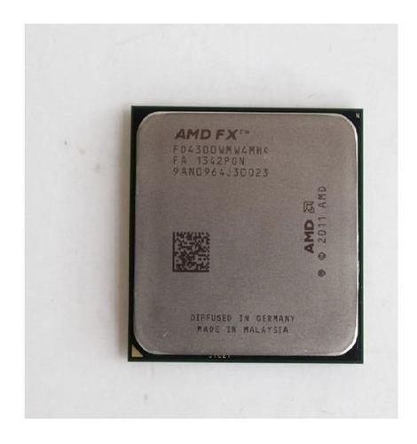 Imagem 1 de 5 de Processador Amd Desk Am3 Fx-4300 2.4ghz Oem 4core Garantia