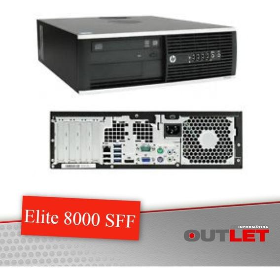 Computador Hp 8000 Elite Core2duo 4gb Hd 320gb
