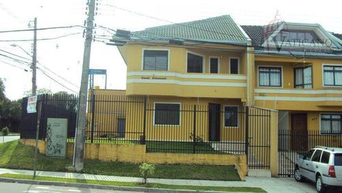 Sobrado Com 3 Dormitórios À Venda, 180 M² Por R$ 698.000,00 - Capão Raso - Curitiba/pr - So0040