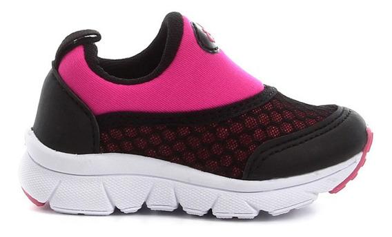 Tenis Feminino Infantil Jogging Iate Slip On Casual Conforto