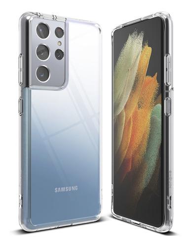 Imagen 1 de 7 de Funda S21 Ultra Ringke Fusion Samsung Galaxy Anti Impacto