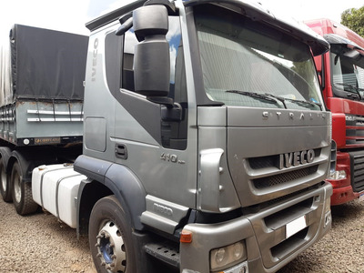 Iveco 410 Stralis 6x2 Ano 2011 = Axor 2544 Scania Fh 380 400