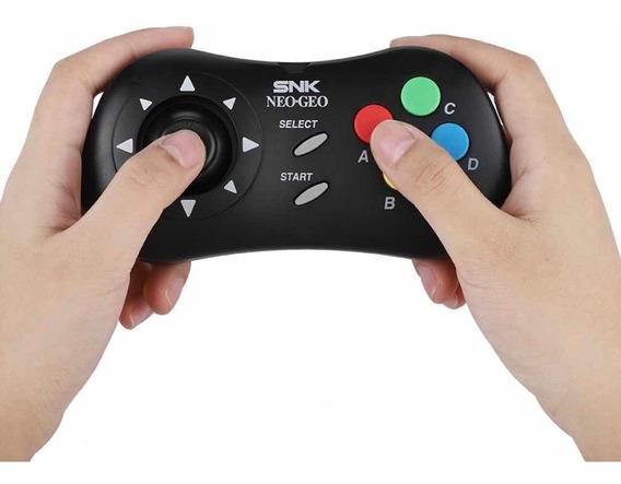Controle Neo Geo Mini Pad Preto Ou Branco Oportunidade