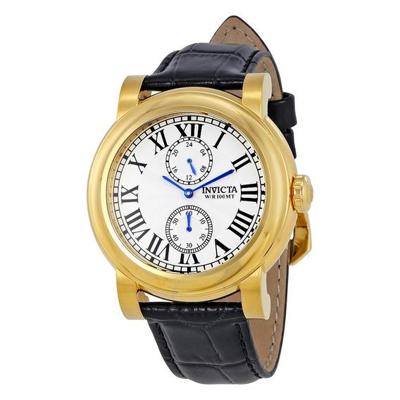 Relógio Invicta I-force 22256 Ouro - Novo Original Na Caixa