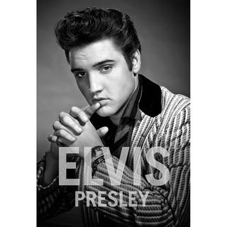 Placa - Decorativa - Grande - Elvis Presley Rock - (gv287)