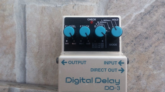 Pedal Guitarra Boss Delay Dd-3