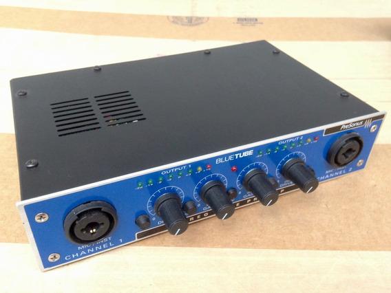 Raro - Presonus Bluetube Stereo Tube Preamp Dois Canais 12x