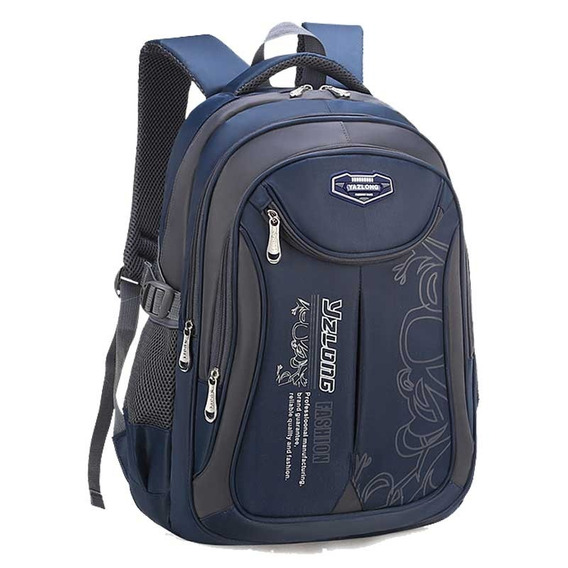 Mochila Escolar Backpack Impermeable Grande Y Económica