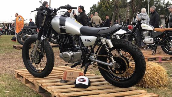 Yamaha Sr 250 Old School Tracker (scrambler Brat Cafe Bobber