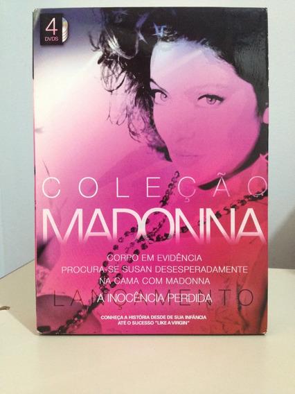 Dvd - Box Coleção Madonna - 4 Filmes