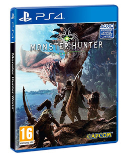 Monster Hunter World / Juego Físico / Ps4