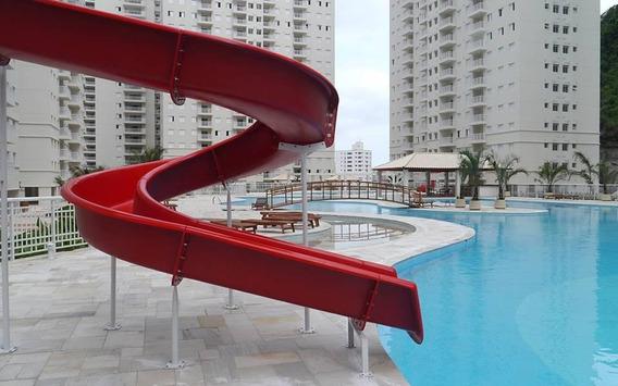 Apartamento Em Marapé, Santos/sp De 84m² 3 Quartos Para Locação R$ 3.000,00/mes - Ap271760