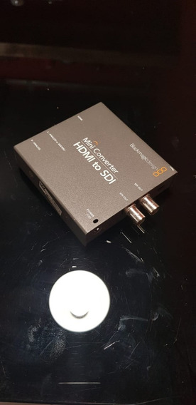 Mini Conversor Hdmi Para Sdi Blackmagic