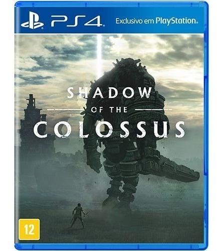 Shadow Of The Colossus Ps4 Novo Midia Fisica