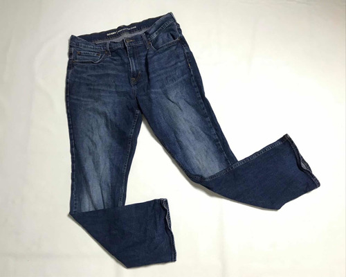 Pantalon Old Nvy Mezclilla Mujer Talla 34 30 Bootcut Mercado Libre