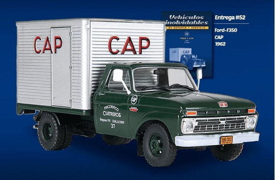 Vehiculos De Reparto Y Servicio Entrega # 52 Ford F-350 Cap