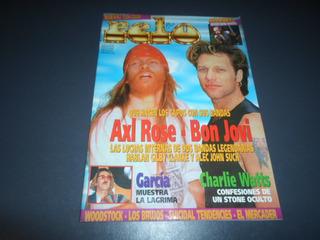 Pelo 472 Bon Jovi Guns N Roses Rolling Stones Robert Plant