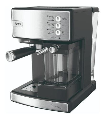 Imagen 1 de 3 de Cafetera Oster Espreso Em6603ss 15bares Silver !