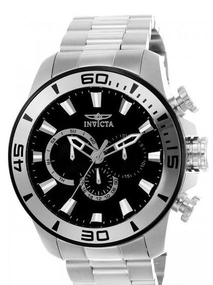 Relógio Invicta Pro Diver 22585 - Prata- Original - Novo