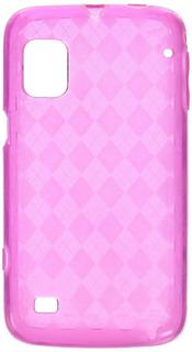 Zte Warp (n) Hot Pink Checkered Cubierta De La Caja De...