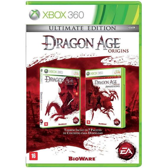 Jogo Dragon Age Origins Ultimate Edition Xbox 360 E Xbox One