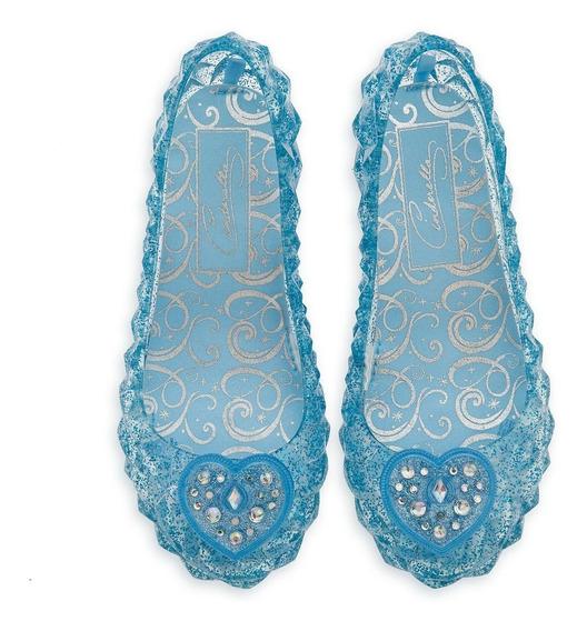 Sapato Cinderela C/luz Original Loja Da Disney P/entrega